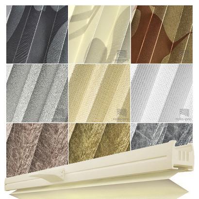 plissee faltrollo ohne bohren plisee nach ma metallico profil elfenbein neu ebay. Black Bedroom Furniture Sets. Home Design Ideas