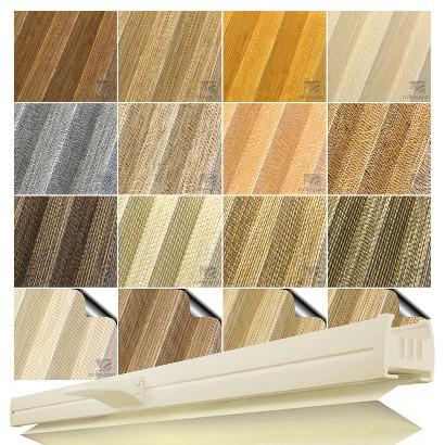 plissee faltrollo ohne bohren plisee nach ma klemmfix natur profil elfenbein ebay. Black Bedroom Furniture Sets. Home Design Ideas