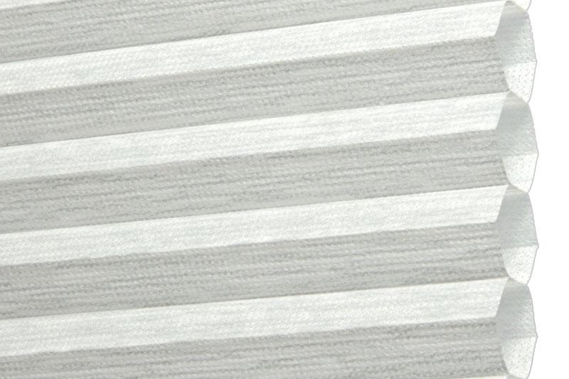 Plissee Hellgrau Alicante-200 Maßanfertigung