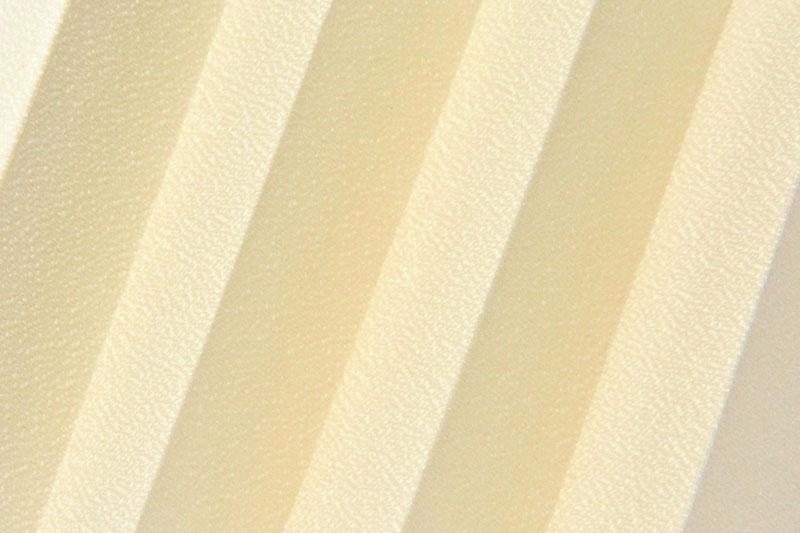 Plissee Creme Basel Pearl-1256 Maßanfertigung