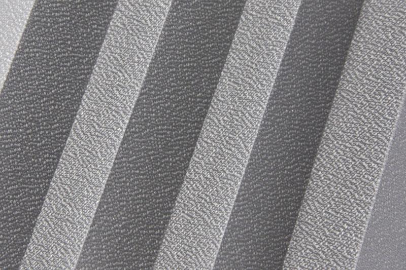 Plissee Grau Basel Pearl-1293 Maßanfertigung