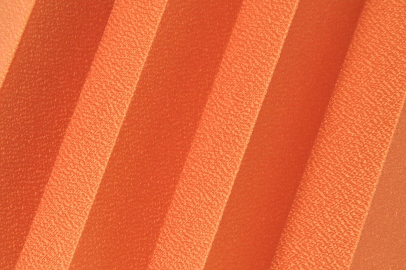 Plissee Orange Basel-1204 Maßanfertigung