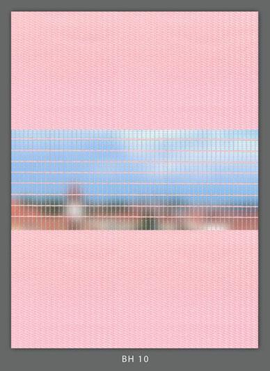 Doppelrollo Pink BH-10 Maßanfertigung