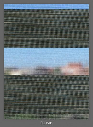 Doppelrollo Fauling Grün BH-1505 Maßanfertigung