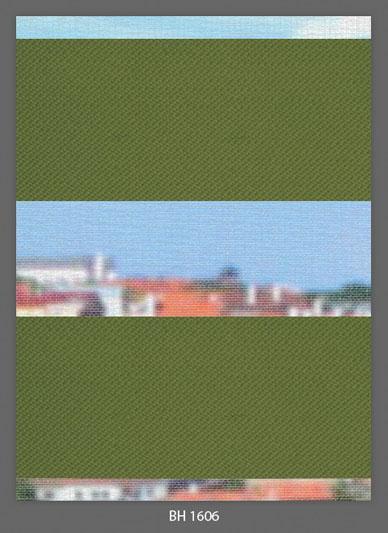 Doppelrollo Grün BH-1606 Maßanfertigung