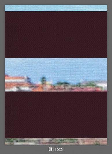 Doppelrollo Rosa/Violet BH-1609 Maßanfertigung