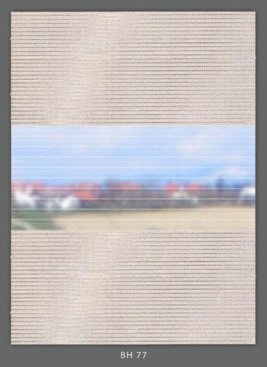 Doppelrollo Grau BH-77 Maßanfertigung