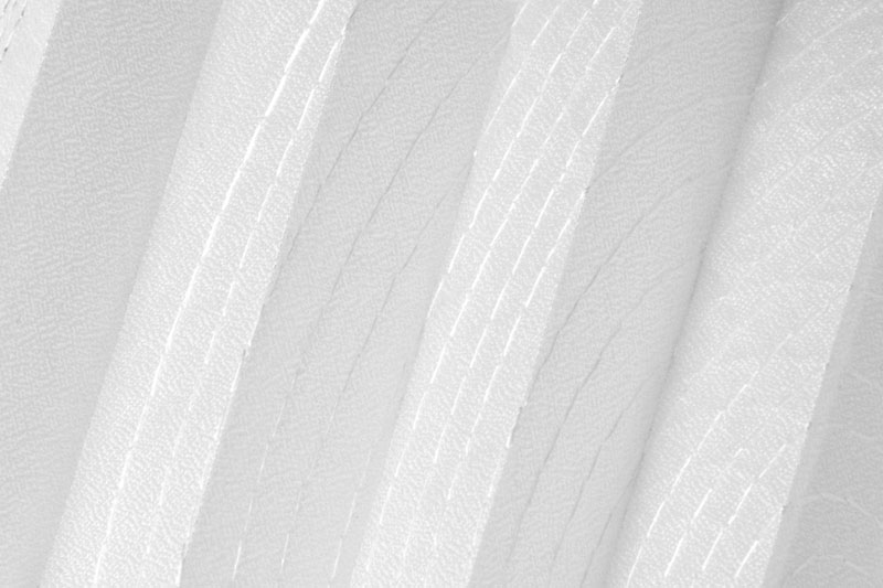 Plissee Weiß Brussels-1300 Maßanfertigung