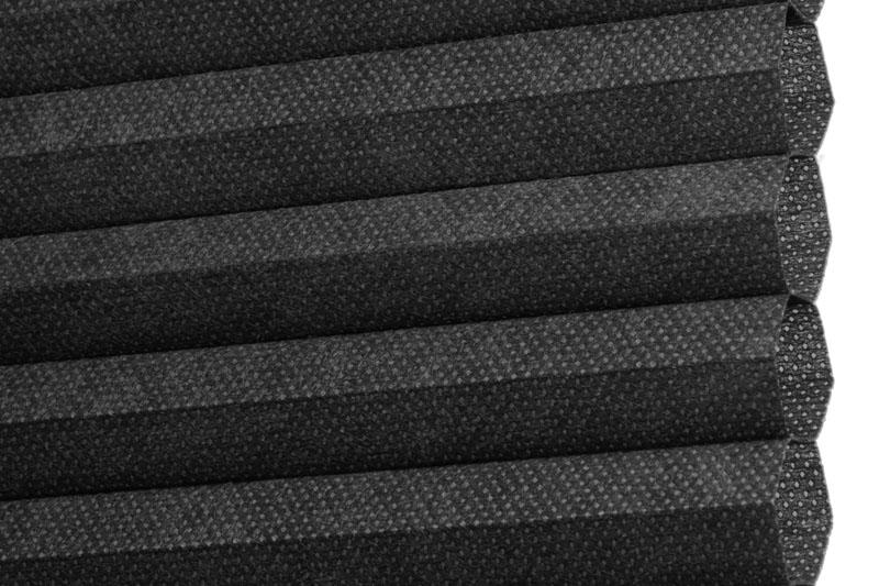Plissee Schwarz Calgary-5208 Maßanfertigung