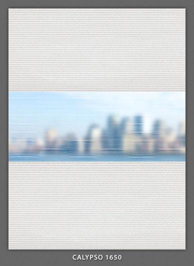 Doppelrollo Weiß Calypso-1650 Maßanfertigung