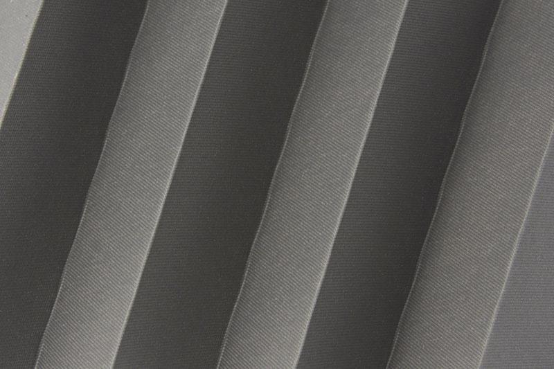 Plissee Dunkelgrau Femi-1300 Maßanfertigung