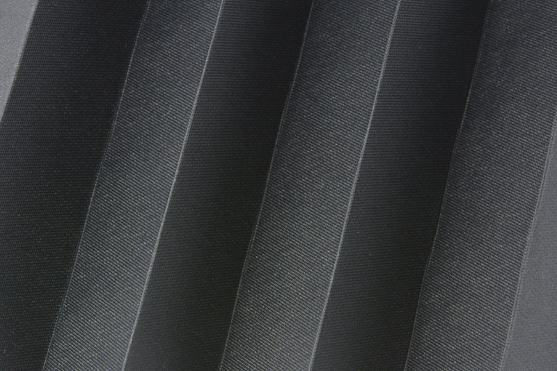 Plissee Schwarz Femi-1320 Maßanfertigung