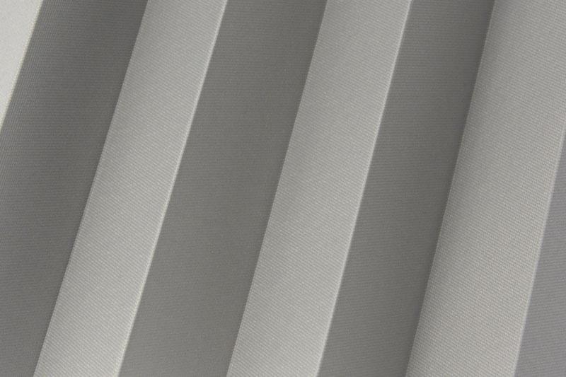 Plissee Grau Femi-610 Maßanfertigung