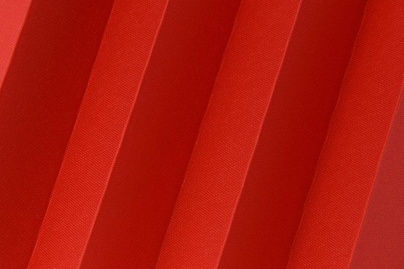 Plissee Rot Femi-6400 Maßanfertigung