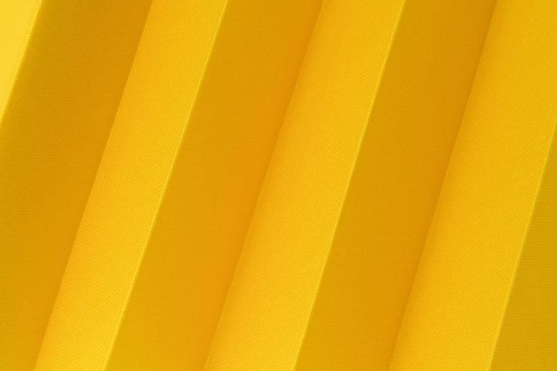 Plissee Gelb Femi-6440 Maßanfertigung