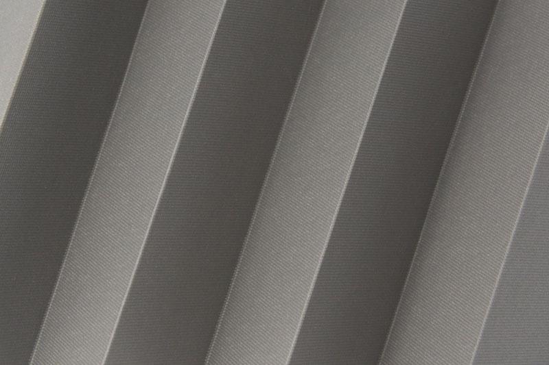 Plissee Grau Femi-923 Maßanfertigung