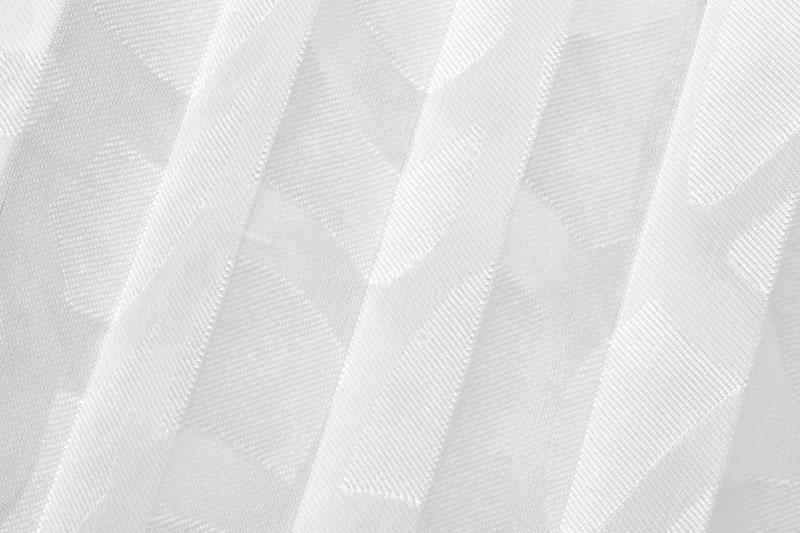Plissee Weiß Fiore-2062 Maßanfertigung