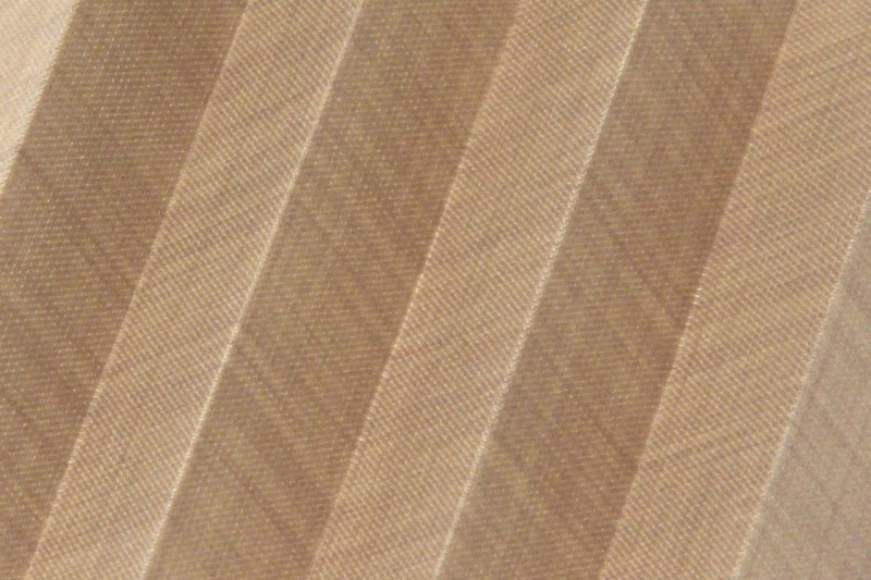Plissee Hellbraun Flax-2311 Maßanfertigung