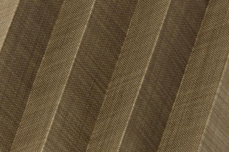 Plissee Dunkelbraun Flax-2319 Maßanfertigung