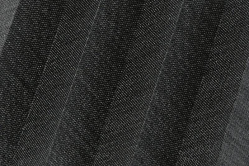 Plissee Schwarz Flax-9084 Maßanfertigung