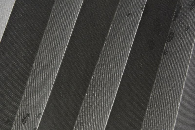 Plissee Anthrazit Grafic-3 Maßanfertigung