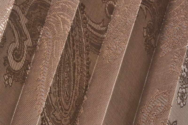 Plissee Braun Jaipur-6206 Maßanfertigung
