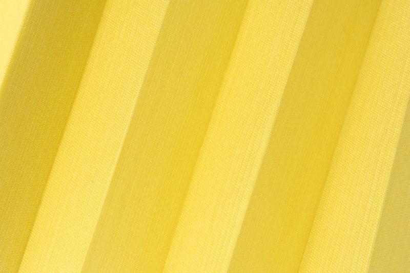 Plissee Gelb Kala-7701 Maßanfertigung
