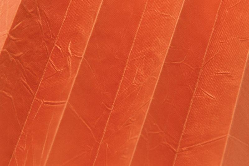 Plissee Orange Kamari-10 Maßanfertigung