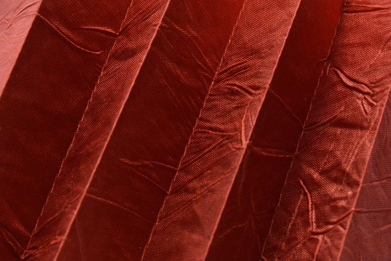 Plissee Rot Kamari-11 Maßanfertigung