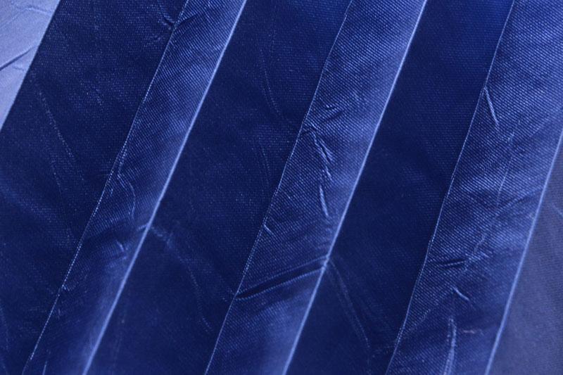 Plissee Tintenblau Kamari-17 Maßanfertigung