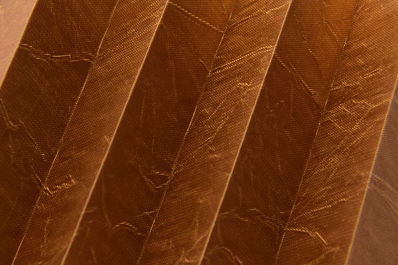 Plissee Braun Kamari-18 Maßanfertigung