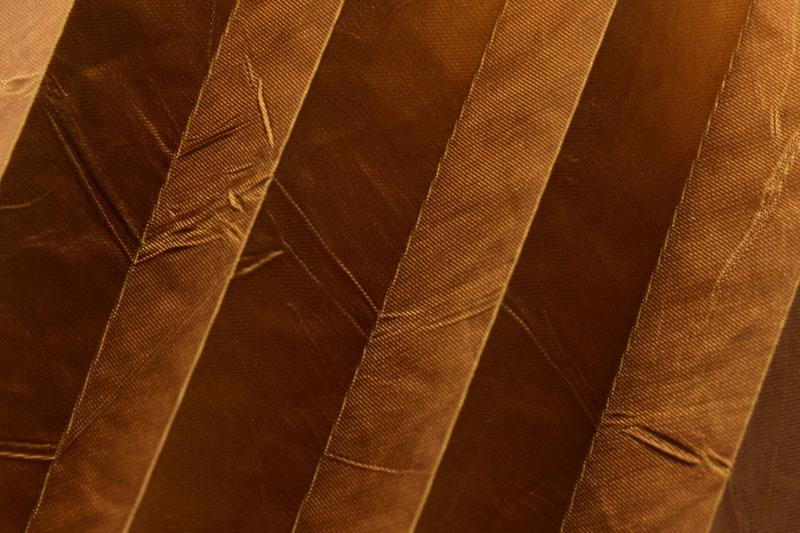 Plissee Braun Kamari-22 Maßanfertigung
