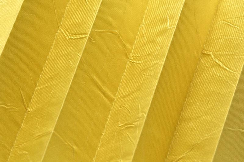 Plissee Zitronen KamariPearl-209 Maßanfertigung