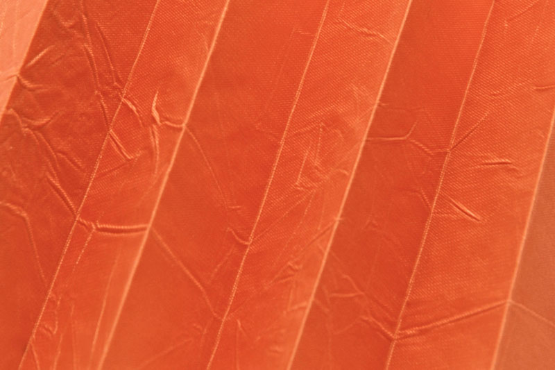 Plissee Pastellorange KamariPearl-210 Maßanfertigung