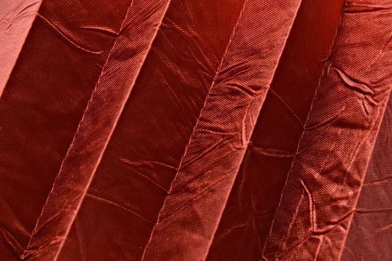 Plissee Rot KamariPearl-211 Maßanfertigung