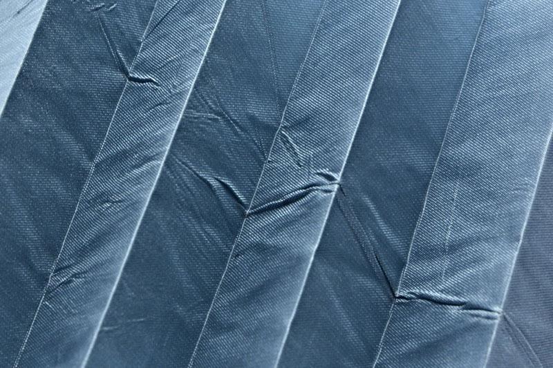 Plissee Pastellblau KamariPearl-215 Maßanfertigung
