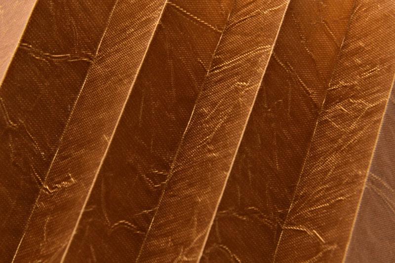 Plissee Kupfer KamariPearl-218 Maßanfertigung