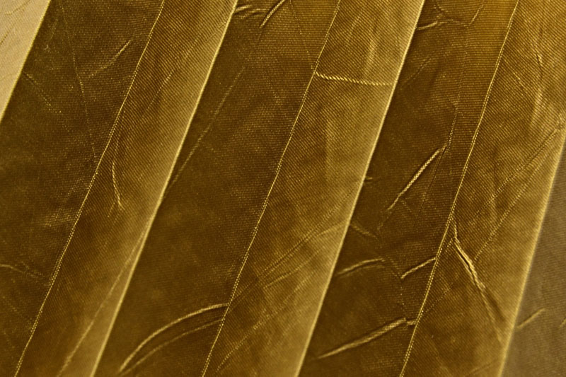 Plissee Altgold KamariPearl-219 Maßanfertigung