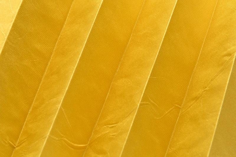 Plissee Gelb KamariPearl-223 Maßanfertigung