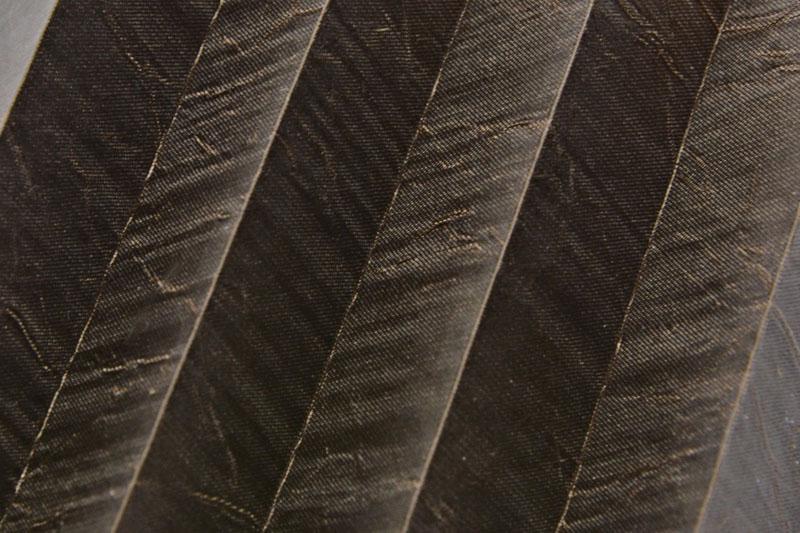 Plissee Schokoladenbraun KamariPearl-225 Maßanfertigung
