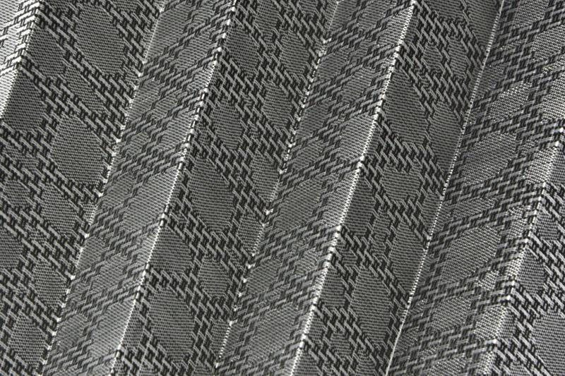 Plissee Silbergrau Kent-6350 Maßanfertigung