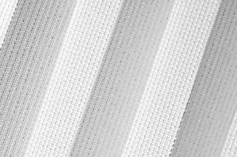 Plissee Weiß und Silber Leipzig-8550 Maßanfertigung