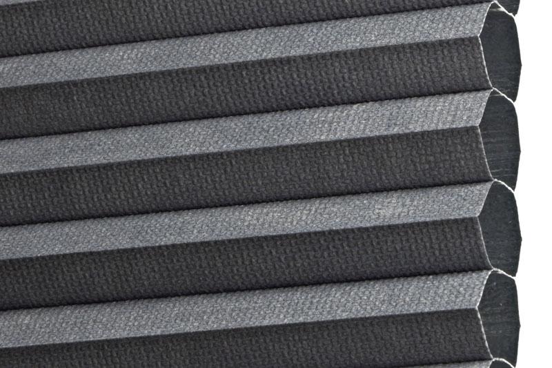 Plissee Grau LimaBO-2028 Maßanfertigung