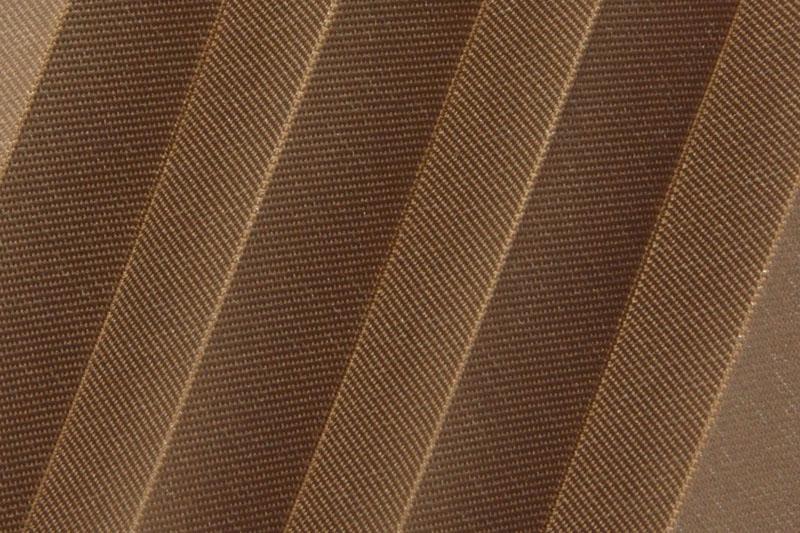 Plissee Braun MessaPearl-7706 Maßanfertigung