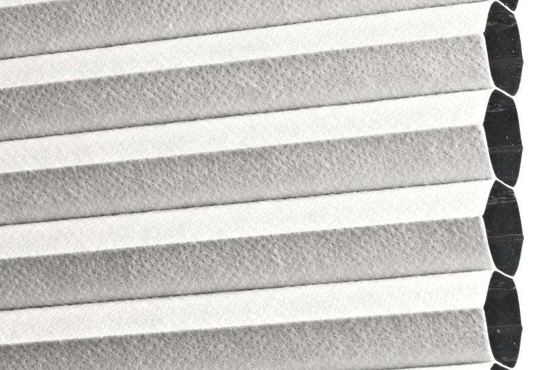 Plissee Weiß MontrealBO-7610 Maßanfertigung