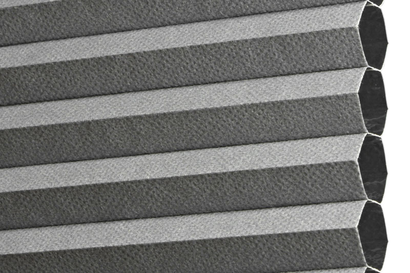 Plissee Graublau MontrealBO-7620 Maßanfertigung