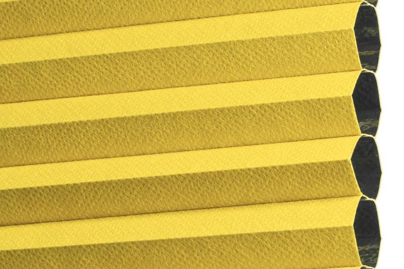 Plissee Gelb MontrealBO-7625 Maßanfertigung