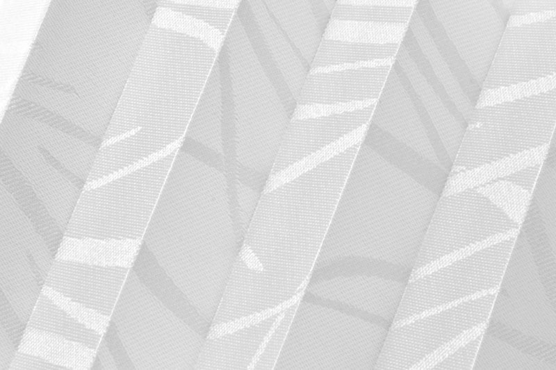 Plissee Weiß Nakato-6600 Maßanfertigung