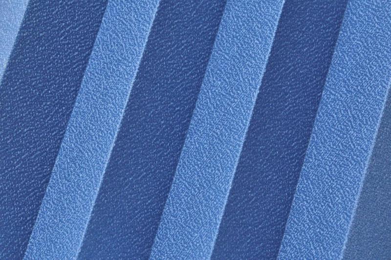 Plissee Blau OpalPearl-1557 Maßanfertigung