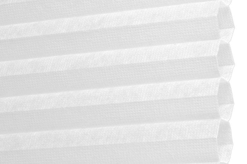 Plissee Weiß Palma-100 Maßanfertigung